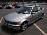2005 Titanium Silver Metallic BMW 3 Series 325i Sedan #32682914