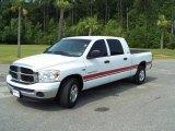 2007 Bright White Dodge Ram 1500 SLT Mega Cab #32682921