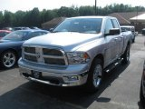2010 Bright Silver Metallic Dodge Ram 1500 Big Horn Quad Cab 4x4 #32682944