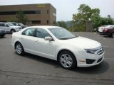 2010 White Suede Ford Fusion SE #32682129