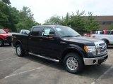2010 Tuxedo Black Ford F150 Lariat SuperCrew 4x4 #32682131