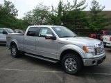 2010 Ingot Silver Metallic Ford F150 Lariat SuperCrew 4x4 #32682134