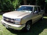 2007 Sandstone Metallic Chevrolet Silverado 1500 Classic LS Crew Cab #32683000