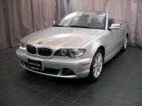 2005 Titanium Silver Metallic BMW 3 Series 330i Convertible #32681812
