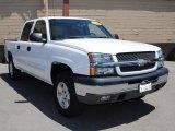 2004 Summit White Chevrolet Silverado 1500 LS Crew Cab 4x4 #32683063