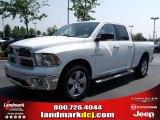 2010 Stone White Dodge Ram 1500 Big Horn Quad Cab 4x4 #32682219