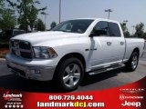 2010 Stone White Dodge Ram 1500 Big Horn Quad Cab 4x4 #32682220