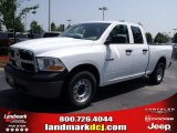 2010 Stone White Dodge Ram 1500 ST Quad Cab #32682224