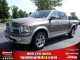 2010 Austin Tan Pearl Dodge Ram 1500 Laramie Crew Cab #32682225