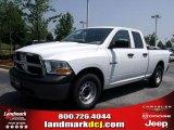 2010 Stone White Dodge Ram 1500 ST Quad Cab #32682227