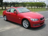 2011 Crimson Red BMW 3 Series 328i Coupe #32683093