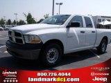 2010 Stone White Dodge Ram 1500 ST Quad Cab #32682229