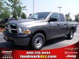 2010 Mineral Gray Metallic Dodge Ram 1500 ST Quad Cab #32682230