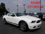 2011 Performance White Ford Mustang V6 Premium Coupe #32682236