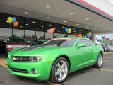 2010 Synergy Green Metallic Chevrolet Camaro LT Coupe Synergy Special Edition #32682686