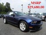 2011 Kona Blue Metallic Ford Mustang V6 Convertible #32682237