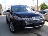 2006 Super Black Nissan Murano S AWD #32683139