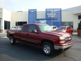 2007 Sport Red Metallic Chevrolet Silverado 1500 Classic Z71 Extended Cab 4x4 #32682323
