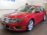 2010 Red Candy Metallic Ford Fusion Sport #32683219