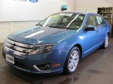 2010 Sport Blue Metallic Ford Fusion SEL #32683227