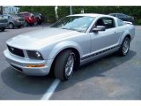 2005 Satin Silver Metallic Ford Mustang V6 Premium Coupe #32681990