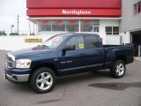 2007 Patriot Blue Pearl Dodge Ram 1500 Sport Quad Cab 4x4 #32681994