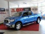 2007 Blue Streak Metallic Toyota Tundra SR5 TRD Double Cab 4x4 #32683243