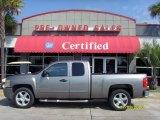2009 Graystone Metallic Chevrolet Silverado 1500 LT Extended Cab #32682007