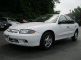 2003 Olympic White Chevrolet Cavalier Sedan #32683251