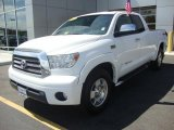 2007 Super White Toyota Tundra Limited Double Cab 4x4 #32682017