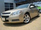 2008 Sandstone Metallic Chevrolet Malibu LT Sedan #32682048