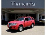 2009 Torch Red Ford Escape XLT V6 4WD #32682067