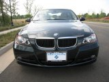 2007 Deep Green Metallic BMW 3 Series 328i Sedan #32807928