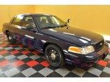 2009 Dark Blue Clearcoat Ford Crown Victoria Police Interceptor #32808423