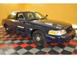 2009 Dark Blue Clearcoat Ford Crown Victoria Police Interceptor #32808424
