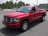 2010 Inferno Red Crystal Pearl Dodge Dakota Big Horn Extended Cab #32808621