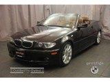 2006 Jet Black BMW 3 Series 330i Convertible #3263727