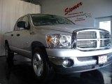 2008 Bright Silver Metallic Dodge Ram 1500 Big Horn Edition Quad Cab #3272707