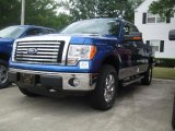 2010 Blue Flame Metallic Ford F150 XLT SuperCab 4x4 #32856305