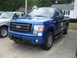 2010 Blue Flame Metallic Ford F150 STX SuperCab 4x4 #32856307