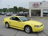 2003 Zinc Yellow Ford Mustang V6 Coupe #32856195
