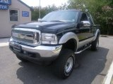 2003 Black Ford F250 Super Duty XLT SuperCab 4x4 #32856217