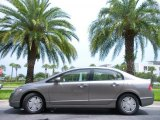 2006 Galaxy Gray Metallic Honda Civic Hybrid Sedan #32855776