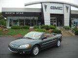 2002 Onyx Green Pearl Chrysler Sebring LXi Convertible #32855995