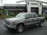 2006 Graystone Metallic Chevrolet Silverado 1500 LS Extended Cab 4x4 #32855997