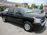 2009 Black Chevrolet Silverado 1500 LT Crew Cab 4x4 #32856456