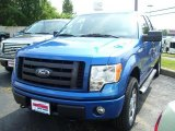 2010 Blue Flame Metallic Ford F150 STX SuperCab 4x4 #32855860