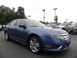 2010 Sport Blue Metallic Ford Fusion Sport #32898357