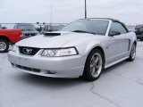 2001 Silver Metallic Ford Mustang GT Convertible #32898806