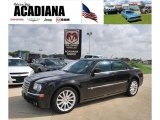 2008 Brilliant Black Crystal Pearl Chrysler 300 C HEMI SRT Design #32898385